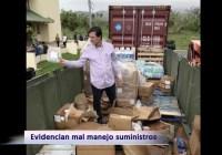 Puerto Rico Hurricane Relief Goods in Dumpster! (Video)