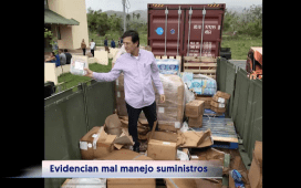 Puerto Rico Supplies in Dumpster