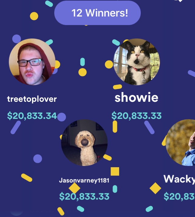 TreeTopLover on HQtrivia