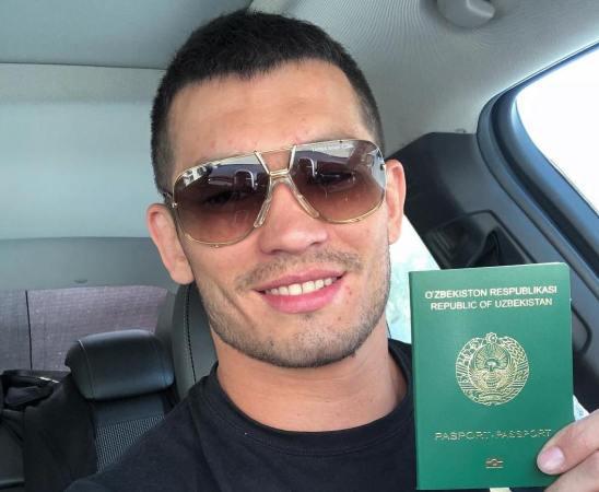 Muradov Uzbek fighter
