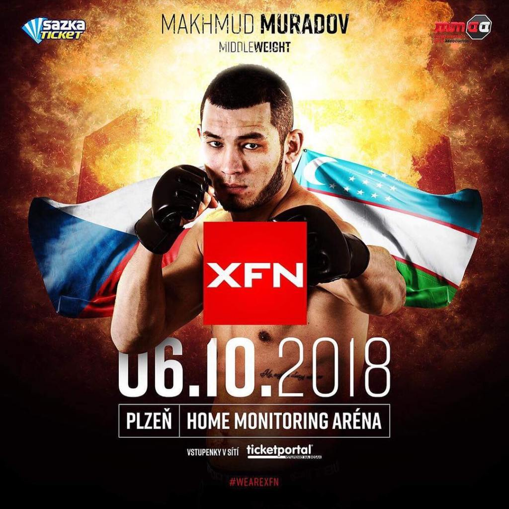 Makmud Muradov next fight in Czechia