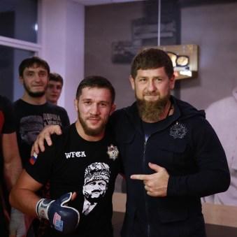 Kadyrov and Bibulatov in Chechynya