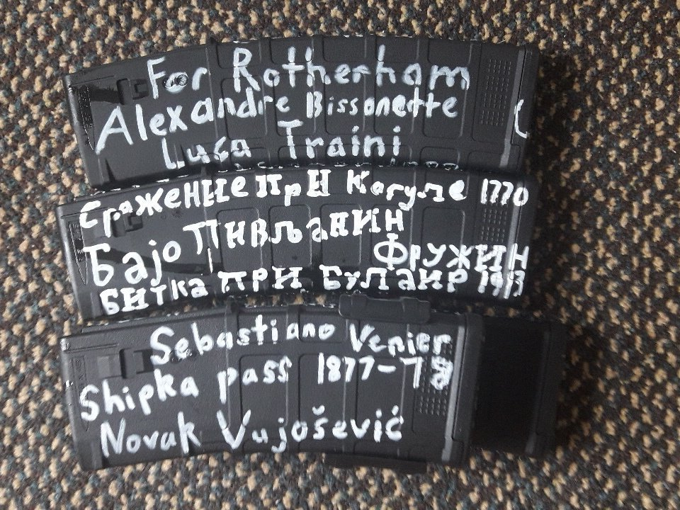 Christchurch shooter names