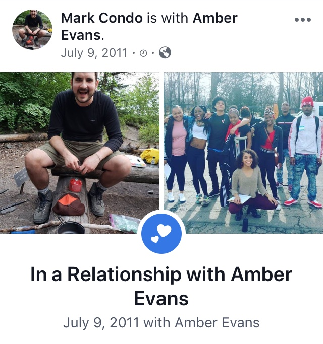 Mark Condo and Amber Evans