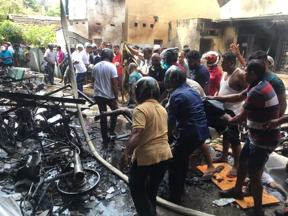 Sri Lanka church bombings