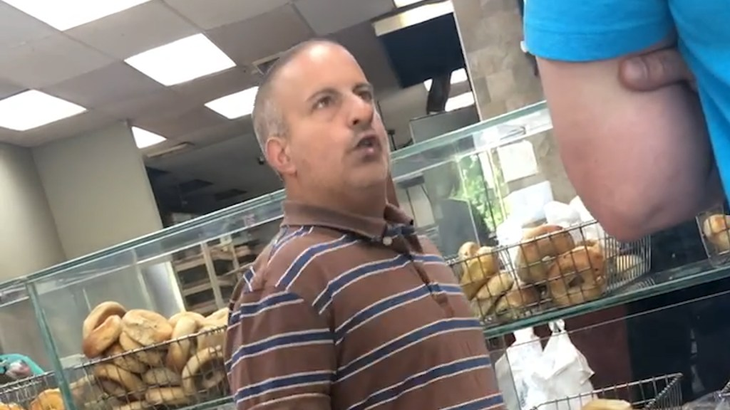 Bagel Shop Man Chris Morgan