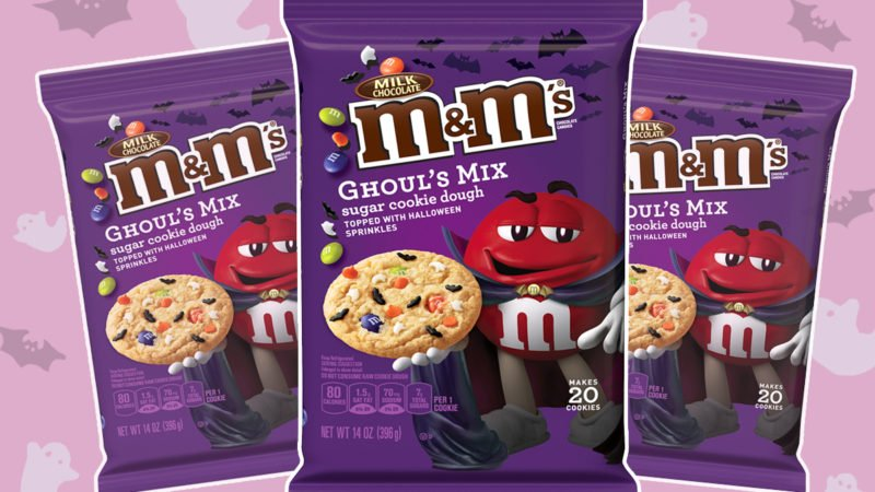 M&M's Ghoul's Mix Cookie Dough