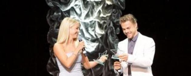 Julianne and Derek Hough