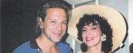 Mickey Rourke and Marci Weiner