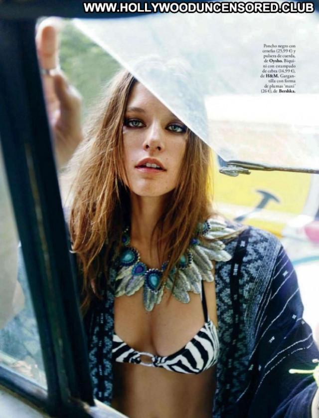 Kim Cloutier Elle Spain Celebrity Spain Beautiful Babe Posing Hot Spa