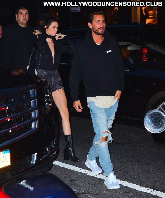 Kendall Jenner Shorts Nyc Celebrity Beautiful Babe Posing Hot