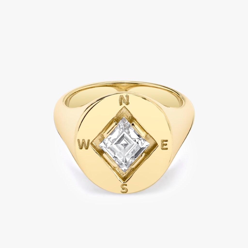 Vrai - Compass Ring - Jewelry