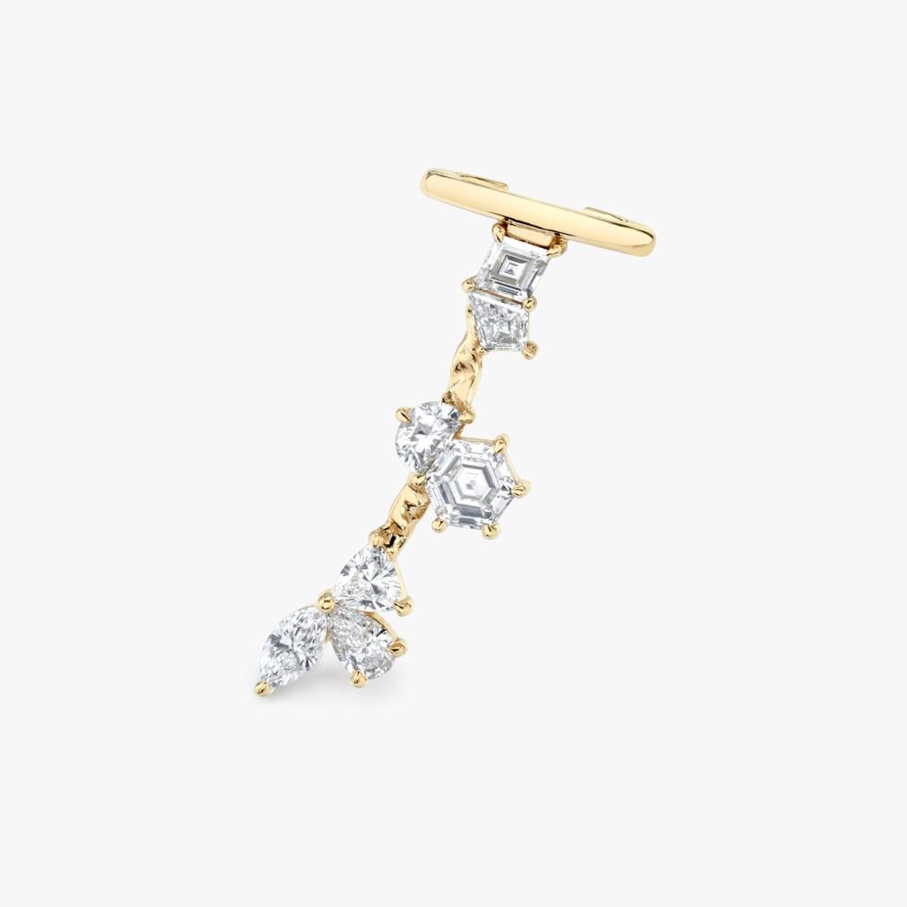 Vrai - Unity Ear Arc - Yellow Gold - Jewelry