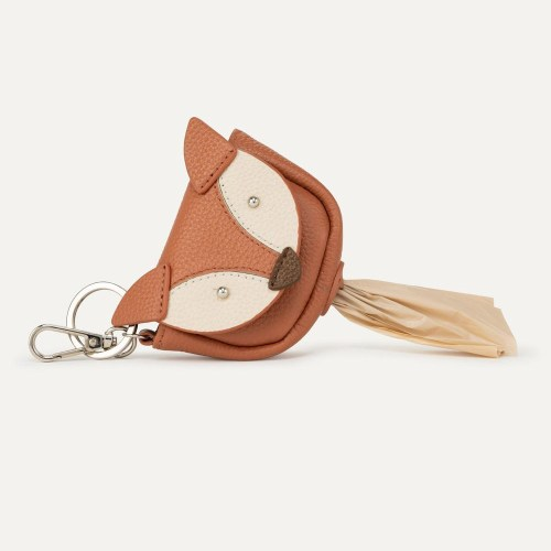 Max Bone Fox Poop Bag Holder