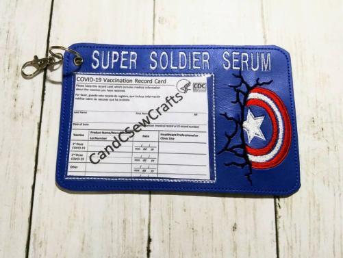 Hero Vaccine Card Holder