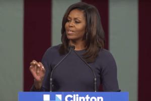 Michelle Obama - YouTube Screenshot