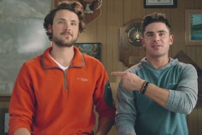 Zac Efron and his brother Dylan interview for Jobs as Columbia Sportswear 'Gear Testers'