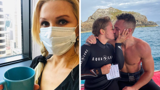 Instagram 7: Danielle Spencer gets her boobs checked and Luke Packham gets engaged
