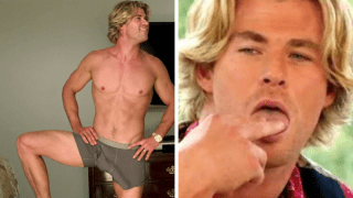 The movie secret Chris Hemsworth didn't want you to know about his massive penis 🤐