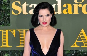 Dita Von Teese: Trying hard is the kiss of death for sexiness