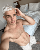 Love Island Australia star Charlie Taylor shows off his abs (and new hair do)