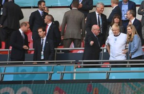 'Bring it home': Prince William sends good luck message to England team ahead of Euro 2020 final