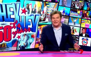 Daryl Somers is back for Hey Hey It's Saturday anniversary special