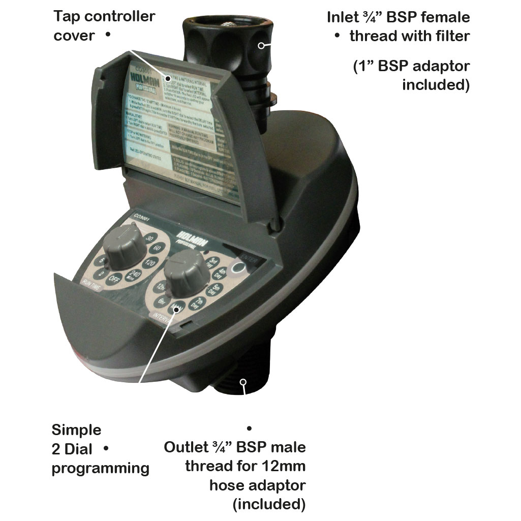 hight resolution of the next generation of tap mounted timers that feature low energy use and a patented eco friendly battery life monitoring display system