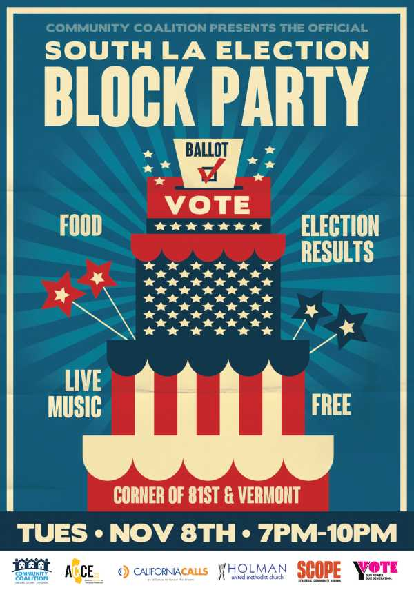 South L. Election Block Party Holman United Methodist Church