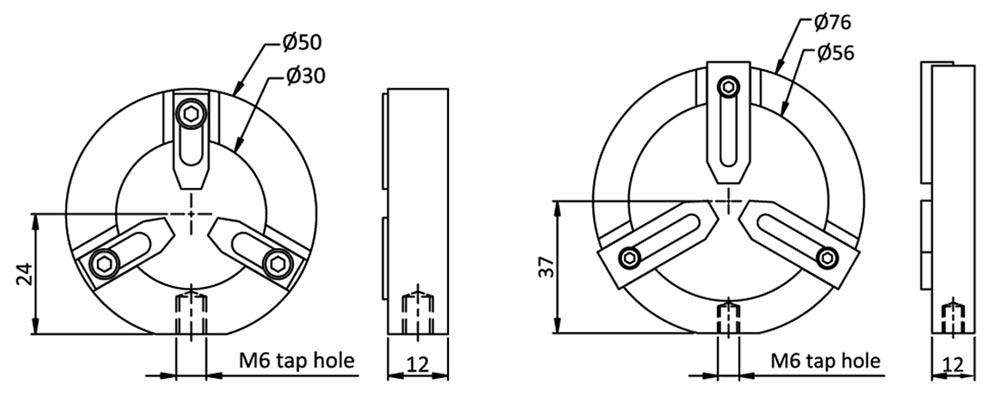 Circular Adjustable Lens Mount