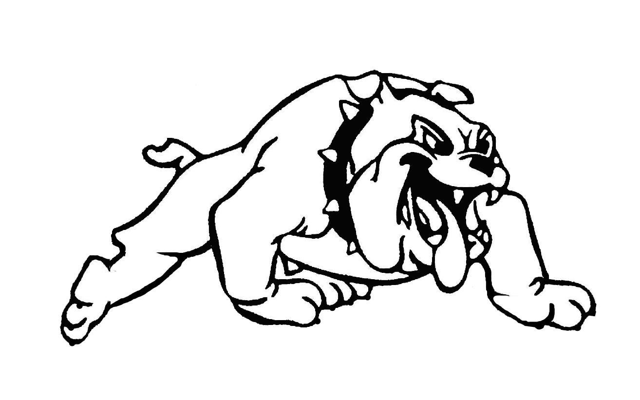 Free coloring pages of football team logos