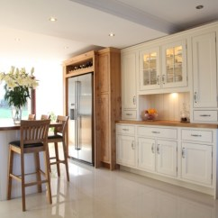 Kitchen Island Wine Fridge Small Appliance Hand Painted Kitchens In Derbyshire | Bespoke