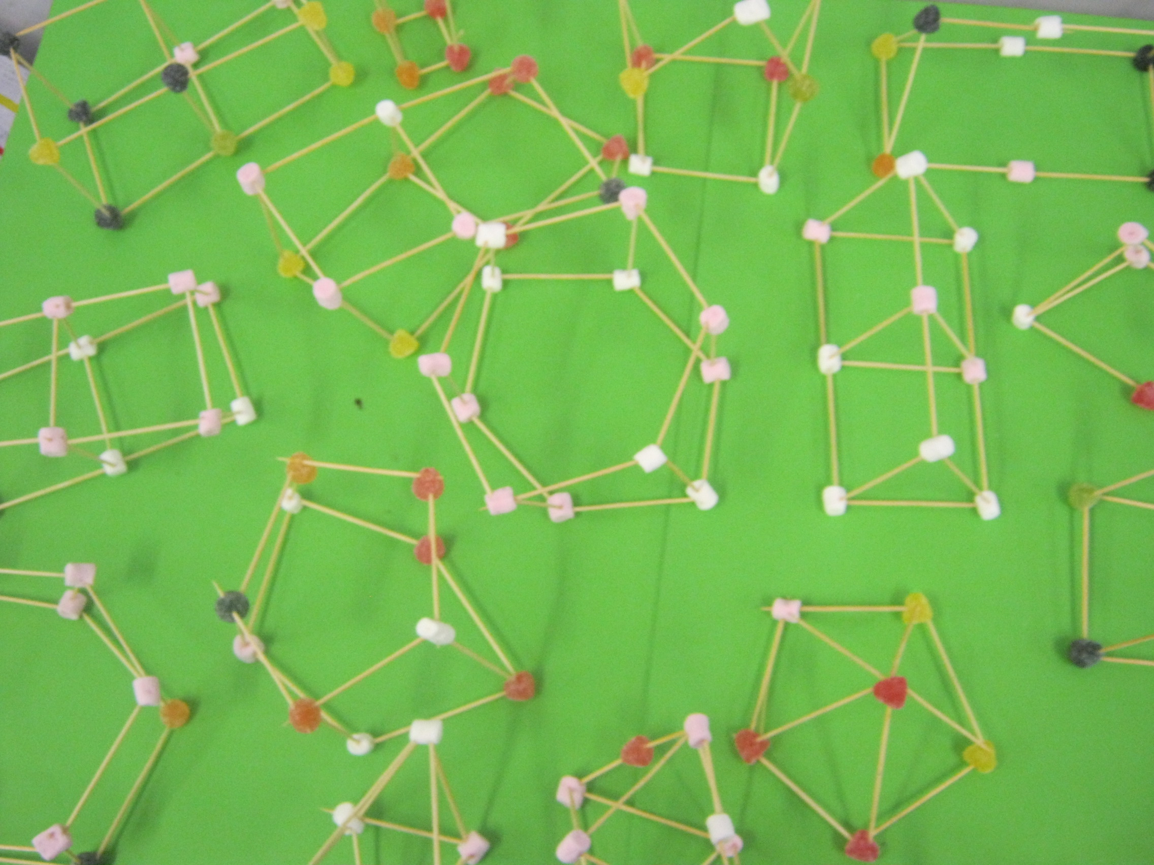 3d Shapes By 5th Amp 6th Class Holmpatrick National School