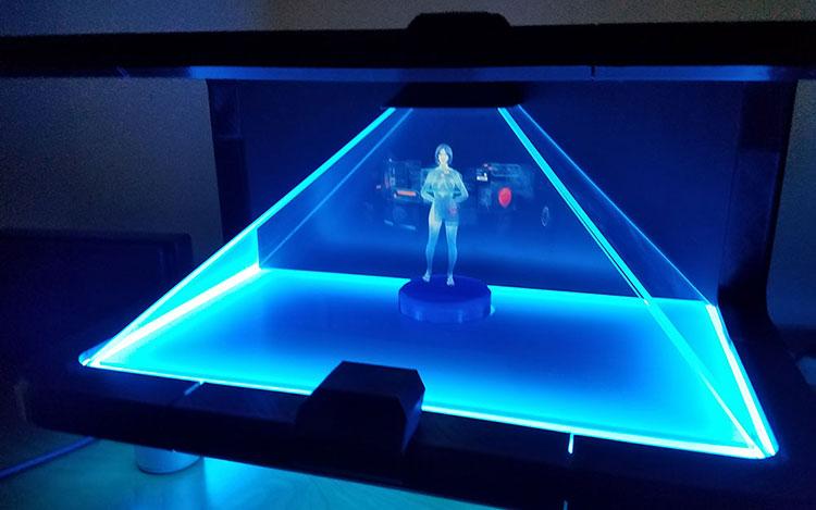 cortana hologramme