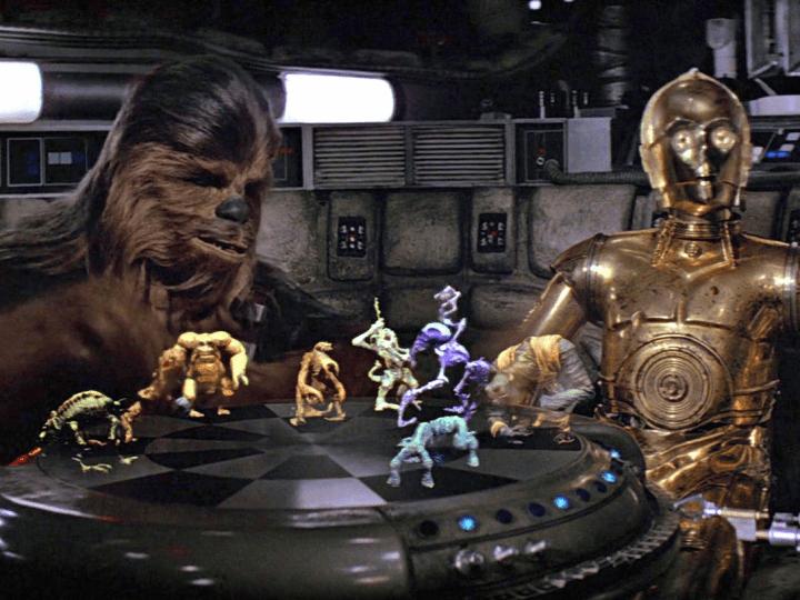 star wars hologrammes