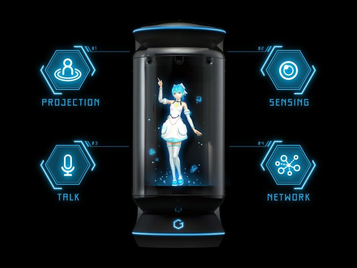assistant hologramme