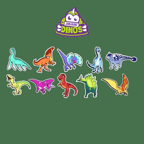 10-tatouages-stickers-TRex-velociraptor-pterodactyl