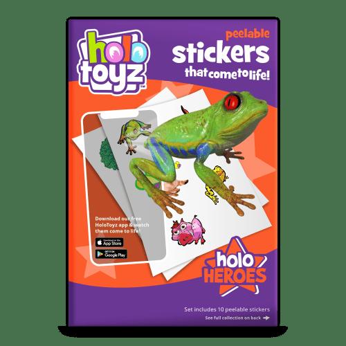 stickers qui prend vie holotoyz
