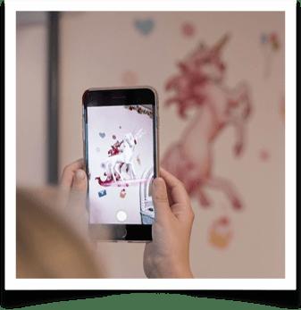 Magical-Unicorn-Wall-Decals-smart-phone