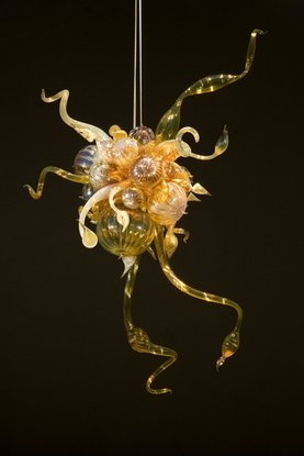 Dale Chihuly Glass Chandeliers  Blown Glass Art