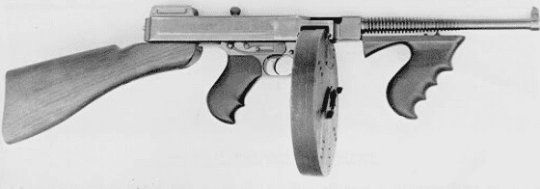 Thompson Submachine Gun (1918)