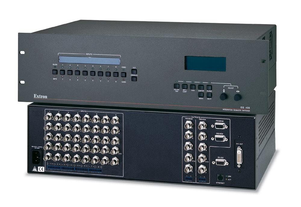 Extron ISS 408 RGB / VGA 8 Input Switcher - Holt AV