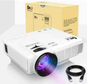 DrJ 4-Inch Mini Projector