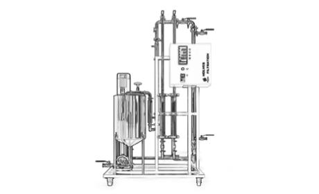 Ceramic-Spiral Multifunctional Lab Equipment — Spray dryer