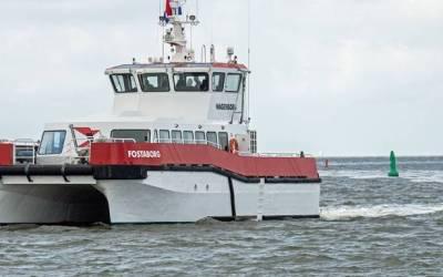 Nieuwe snelboot vervangt Fostaborg tussen Ameland en Holwerd