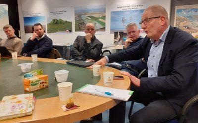 Plannen Masterplan Holwerd gepresenteerd aan de gemeente