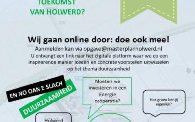 Vrijdag online sessie over duurzaamheid
