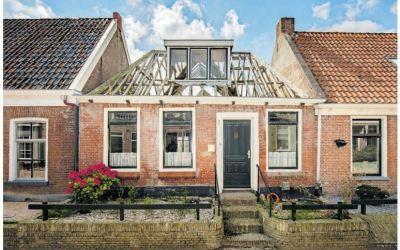 Verkrotte woning Waling Dykstra wordt 'schrijvershuis'
