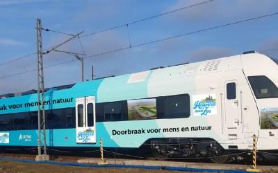 De Holwerd aan Zee trein komt eraan!