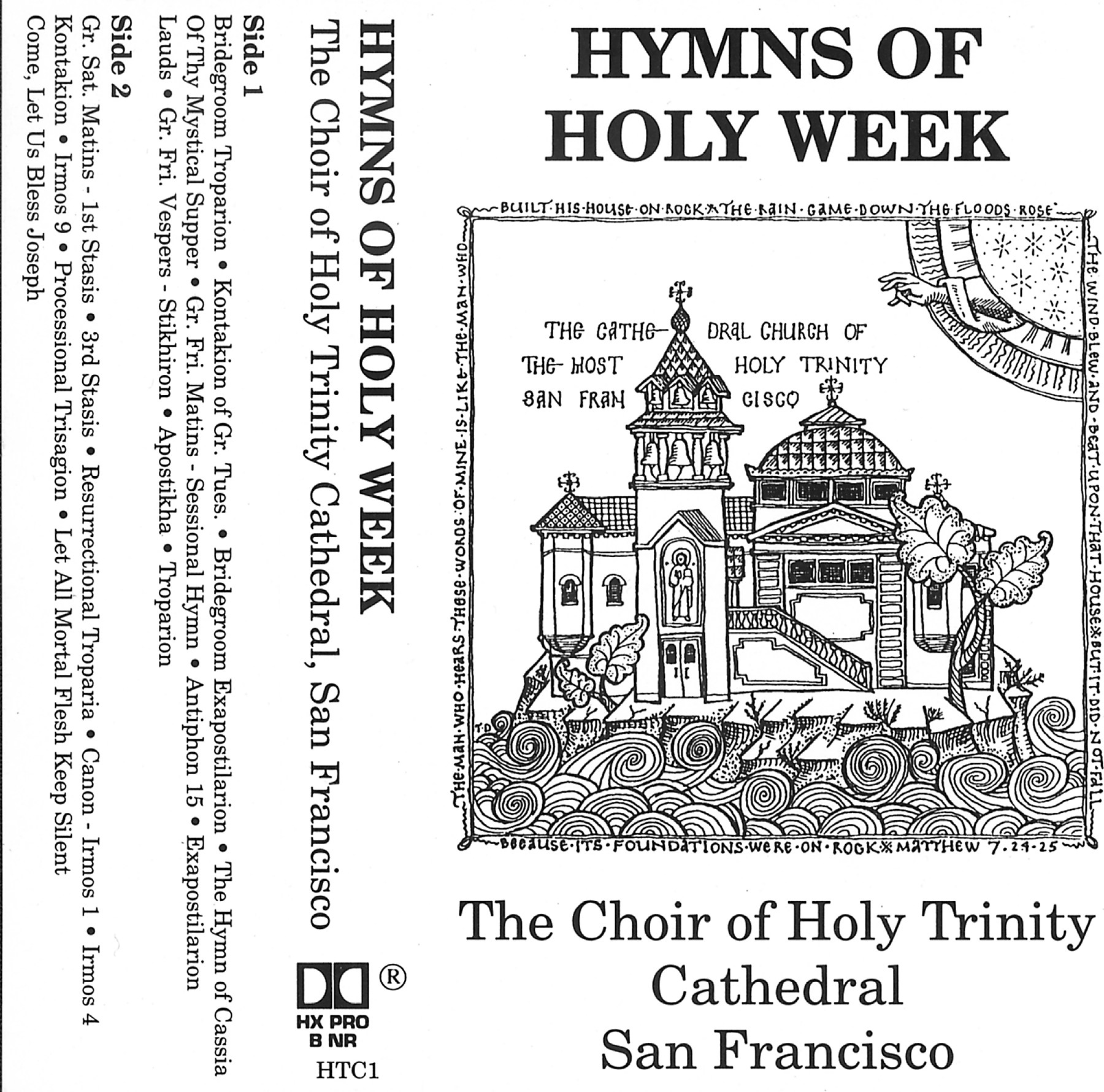 HTC: Hymns of Holy Week